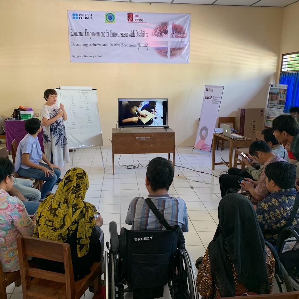 Disability Empowerment Centre (DEC) - Mitra Sejahtera, Gunung Kidul DIY, w/Kampung Halaman